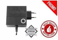 120W SLIM SETTAGGIO MANUALE CON PORTA USB 2A COLORE NERO